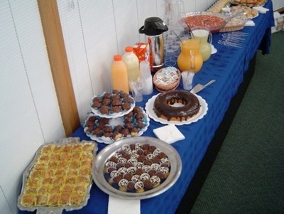 Buffet de Coffee Break Empresarial