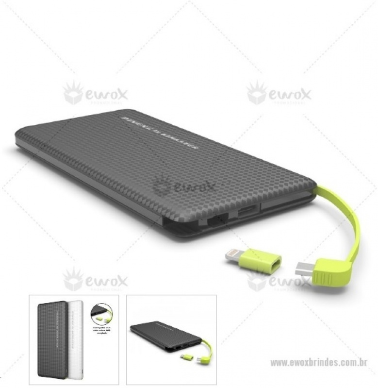 Power Bank com Tomada