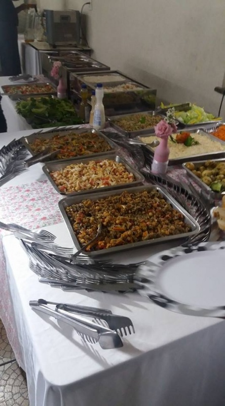 Buffet para Evento Corporativo