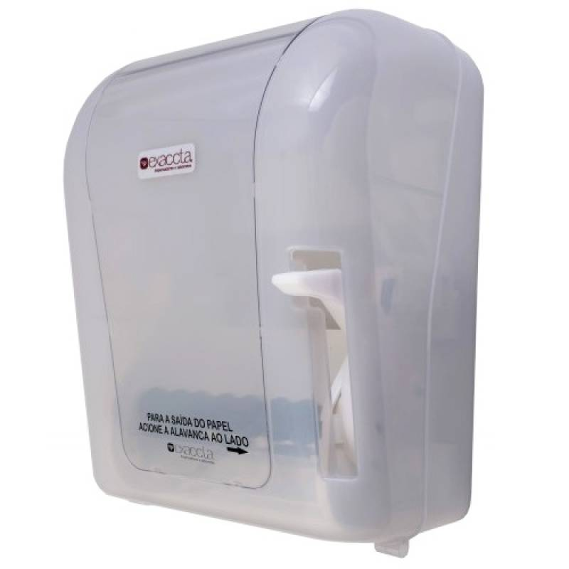 Dispenser de Papel Interfolha Inox