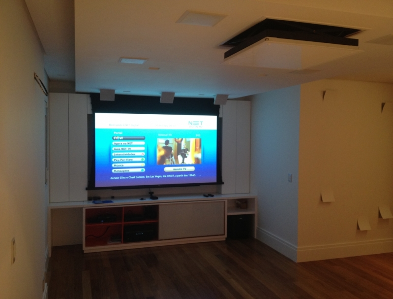 Home Theater para Quarto