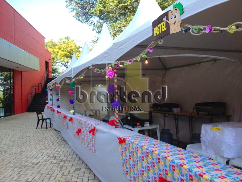 Tenda Decorada para Festa Junina